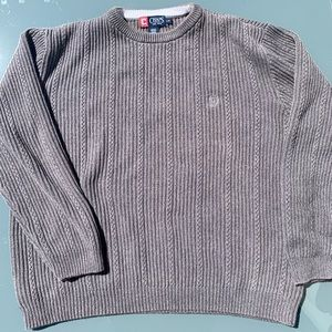 Chaps knitted Crewneck Sweater